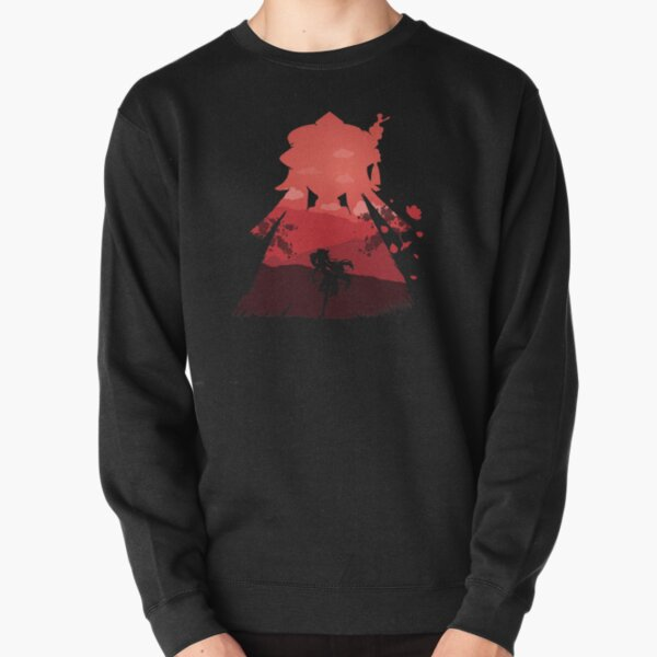 Genshin Impact Hu Tao - Illusion *Black* Pullover Sweatshirt RB1109 product Offical Genshin Impact Merch