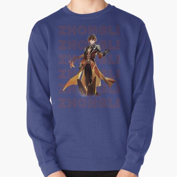 Genshin Impact Zhongli Design Pullover Sweatshirt RB1109 product Offical Genshin Impact Merch
