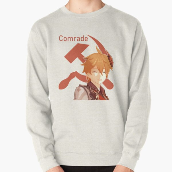 Comrade Childe (Text Version) Pullover Sweatshirt RB1109 product Offical Genshin Impact Merch
