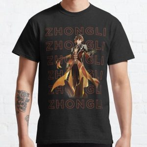 Genshin Impact Zhongli Design Classic T-Shirt RB1109 product Offical Genshin Impact Merch